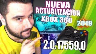 NUEVA ACTUALIZACIÓN XBOX 360 2.0.17559.0 PARA XBOX 360 RGH 2019 CÓMO ACTUALIZAR