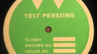 Pilhofer Test Pressing?