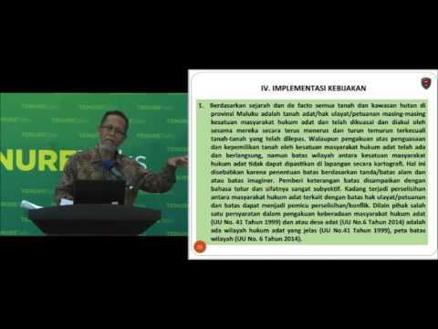 Tenure Talks Indonesia: Azam Bandjar tentang implikasi kebijakan atas masyarakat adat di Maluku