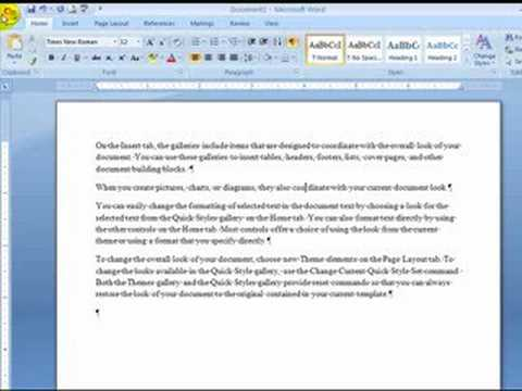 how to put hanging indents in word