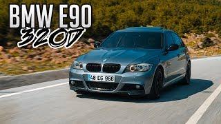 BMW 320D E90 Test Sürüşü / 230 Beygir Gücünde Makyajlı Kasa
