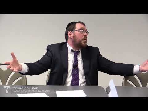 Torah Study with Campus Rabbi Baruch Fogel - The Duty of a Society to Heal all.