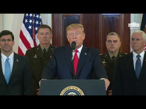 The Morning Rush - ICYMI: Trump's Speech On Iran's Attack