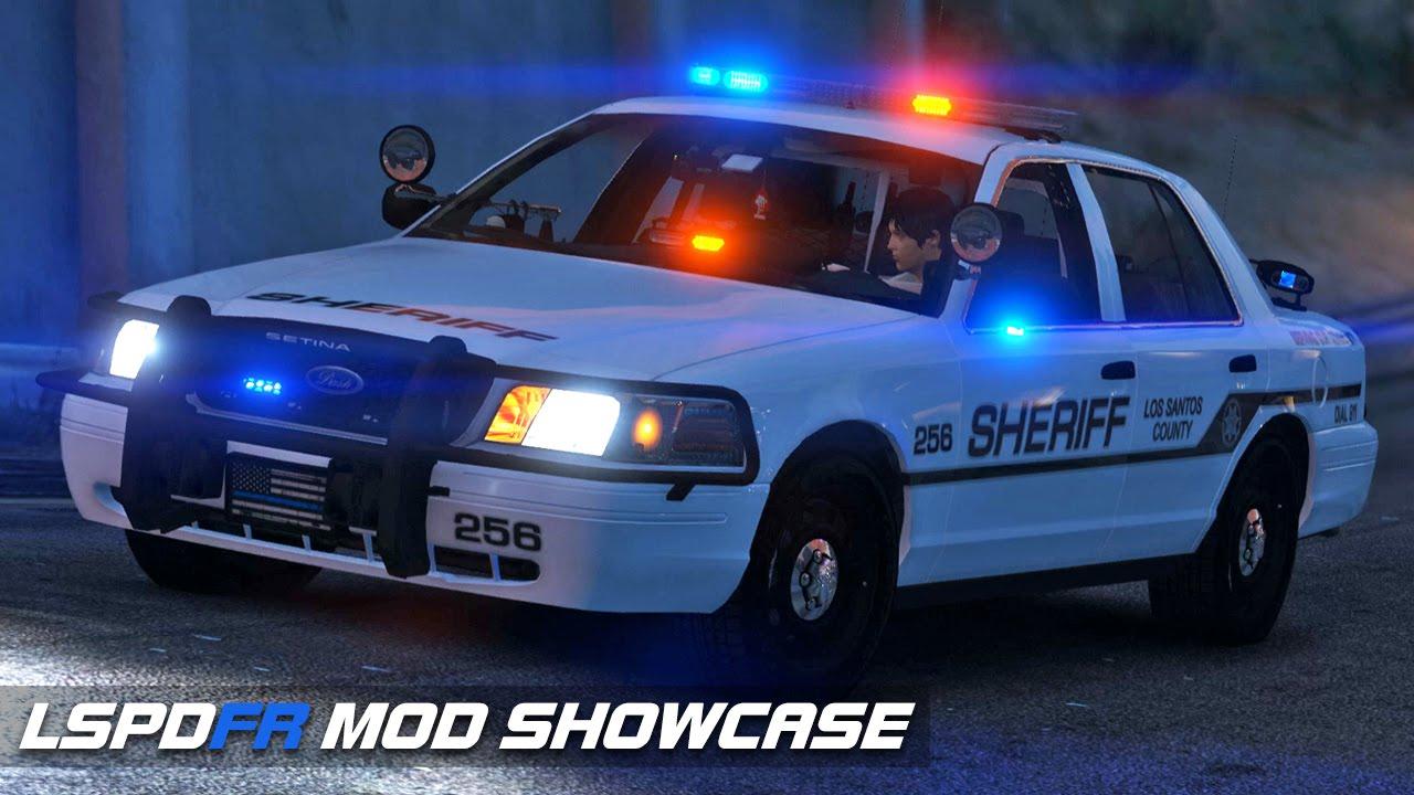 2011 CVPI with Whelen Liberty II | GTA V LSPDFR Mod Showcase
