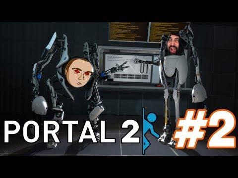 Portal 2: COOPERATIVO | Haciendo de cuenta que sabemos jugar (Con Jugandoconnatalia) #2
