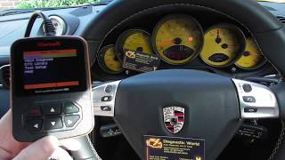 Porsche 997 ABS Traction Warning Light Reset ABS Sensor 4200 911 i960
