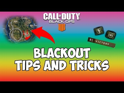 How to win more games in Blackout (Tips & Tricks for the final stage of the Match) - Black Ops 4