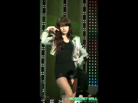 [Cam HD] 110327 T-ara Jiyeon - Bo Peep Bo Peep @ Lotte Giants 2011 [13]