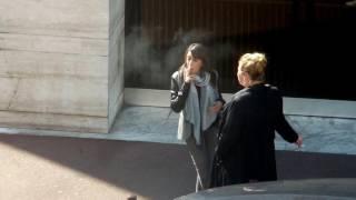 candid smoking girls #5
