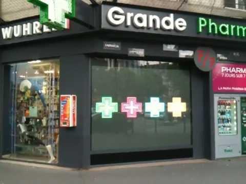 Ecran g ant led pharmacie youtube for Ecran geant led exterieur