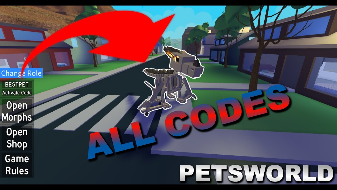 all codes for pets world roblox 2019
