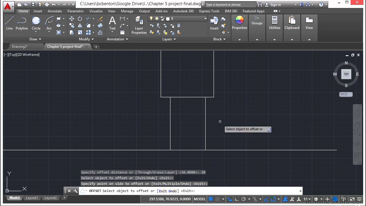 Learning Autodesk AutoCAD 2015 Drawing And Drafting Tools Project ...