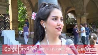 Azərbaycan yoxsa Ermənistan?- Tbilisidə sorğu