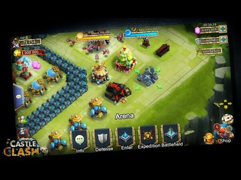 Castle Clash; Arena Update FULL INFO!