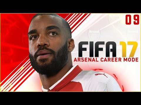 FIFA 17 Arsenal Career Mode Ep9 - EARLY RED CARD!!