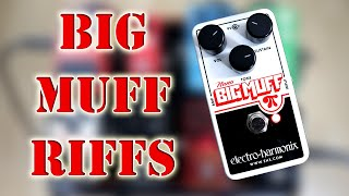 Famous Guitar Riffs using the Big Muff Pi Nano