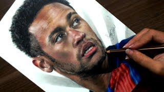 Drawing Neymar Jr. | FC Barcelona
