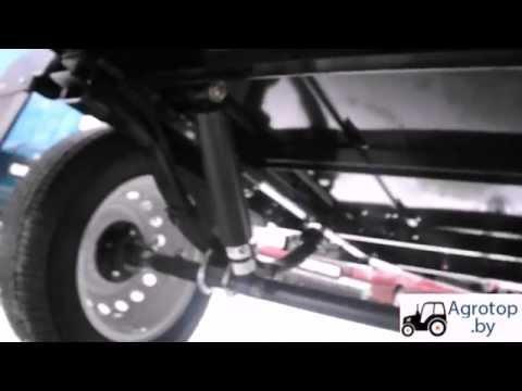 Прицеп грузовой БелАЗ 8113 к легковым автомобилям