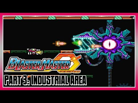 Blaster Master Zero Part 3: Area 3 - Industrial Area