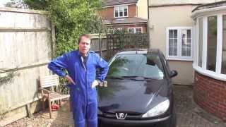 How to change a Peugeot 206 1.1 Petrol engine Cam belt and head gasket