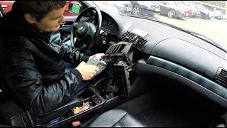 Замена радиатора печки BMW E46 !