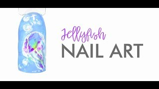 Nail Art Jellyfish: step-by-step (tutorial)