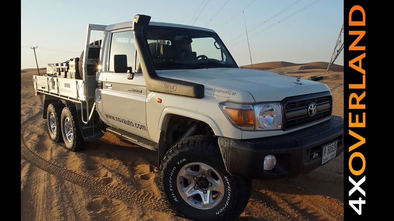 Toyota Land Cruiser 6x6 Is This My New 4x4 Andrew St Pierre White