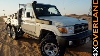 Toyota Land Cruiser 6x6. Is this my new 4x4? Andrew St Pierre White