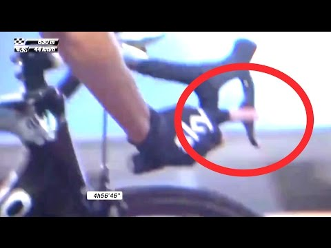 Chris Froome Caught Riding An Ebike?