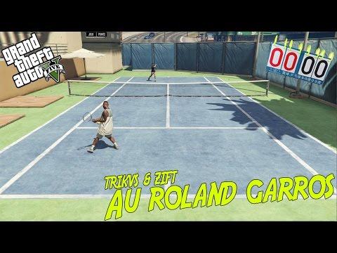 J'ai joué contre Nadal au tennis sur GTA - GTA ONLINE