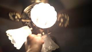 видео люстра вентилятор