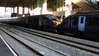 Olympic Javelin train service (part 2) on Stratford Eurostar platforms