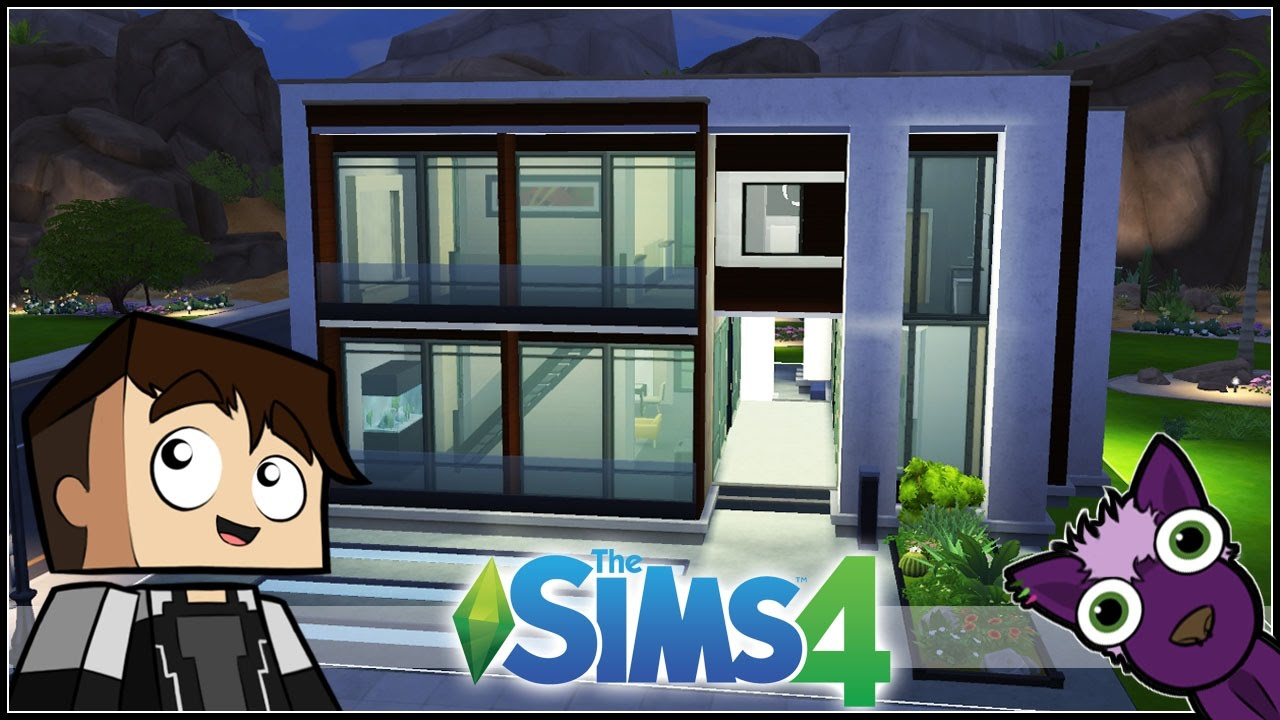 Los sims 4 speed build mis construcciones casa for Casas modernas sims 4 paso a paso