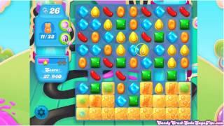 Candy Crush Soda Saga Level 185 Commentary Walkthrough