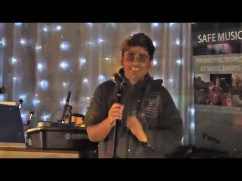 Omar Khan song and dance at Yorkshire Gig Guide Open mic and Featured Artist  Sorm Studio Bradford 2