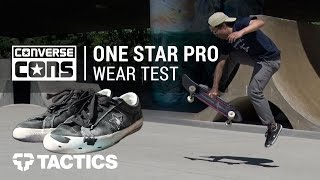 Converse One Star Pro Skate Shoes Wear