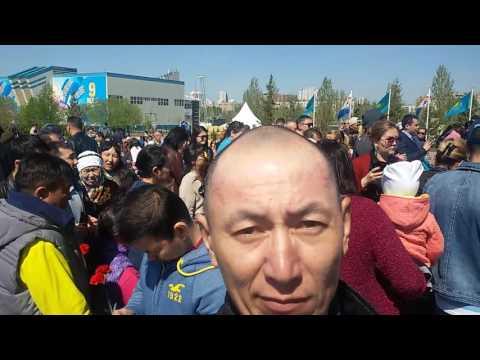 видео: 9 мая 2017 в Астане Праздник День Победы май  видео 7