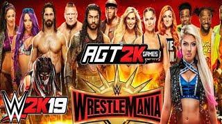 AGT - WWE 2K19 | WRESTLEMANIA 35 (ИГРАЕМ ВЕСЬ КАРД ШОУ И ОБЩАЕМСЯ!) ЗАПИСЬ СТРИМА ОТ 07.04.19