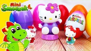 Hello Kitty Otwiera Jajka Niespodzianki! Zabawki Bajki Dla Dzieci Po Polsku