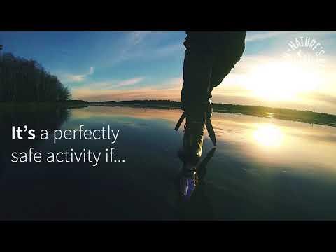 Ways to experience Swedish nature: Nordic Ice skating
