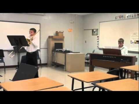Jacob Howey trombone accompanied by Jeremy Jacobs piano