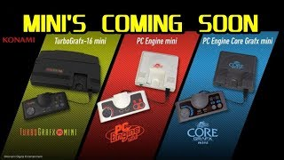 Official TurboGrafx-16 Mini & PC Engine Mini is COMING SOON!!