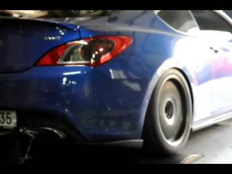 supercharged 3 8 auto genesis coupe dyno youtube. Black Bedroom Furniture Sets. Home Design Ideas