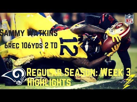 Sammy Watkins Week 3 Regular Season Highlights Watch Out! | 9/21/2017
