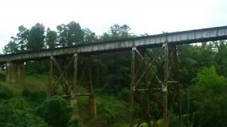 Saluda Dam Railroad Bridge - a haunted place in Upstate South Carolina