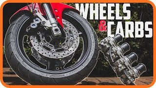 Powder Coated R1 Wheels and Carburetor Clean Out | Yamaha R1 Project Bike
