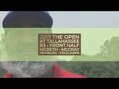 2019 Open at Tallahassee • R3 Fnt Half • Paul McBeth • JohnE McCray • Calvin Heimburg • C Colglazier