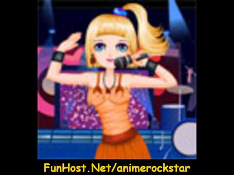 Anime Rock Star - Online Video Game