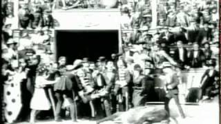 Dansk Filmhistorie - Dødsspring til Hest fra Cirkuskuplen (1912)