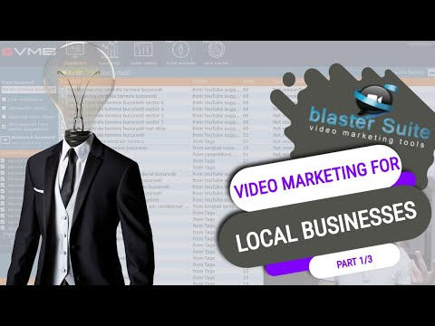 Video Marketing for local businesses - Part 1 /3 - Video Marketing Blaster Pro. http://bit.ly/2PEpqGL